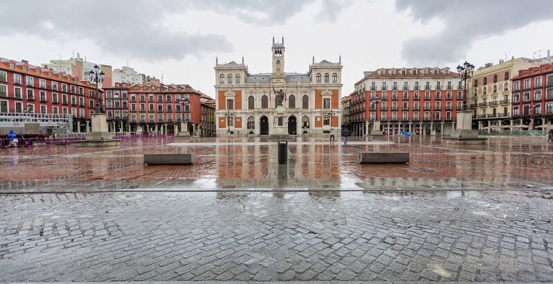plaza mayor valladolid